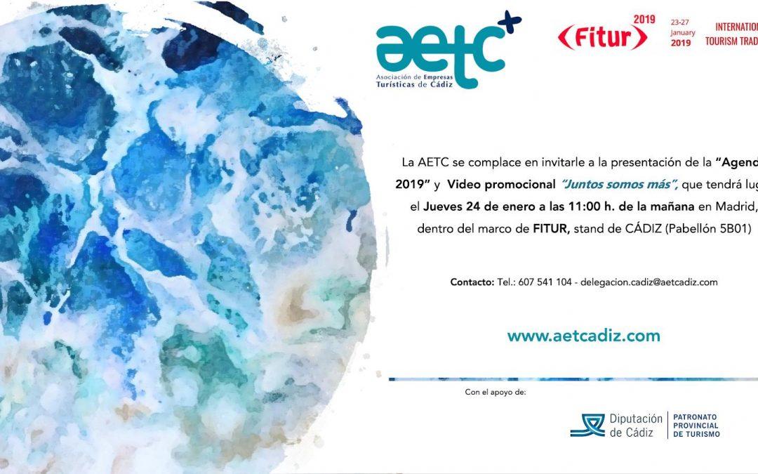 Presentación Agenda AETC y vídeo promocional en FITUR