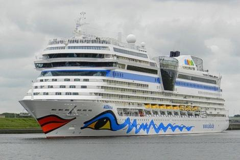 Escala de cruceros: Aidamar