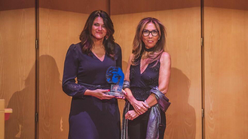 Bernardette M. Orallo, directora de Tecnología e Innovación de González Byass y María José Marzal, directora de Computerworld