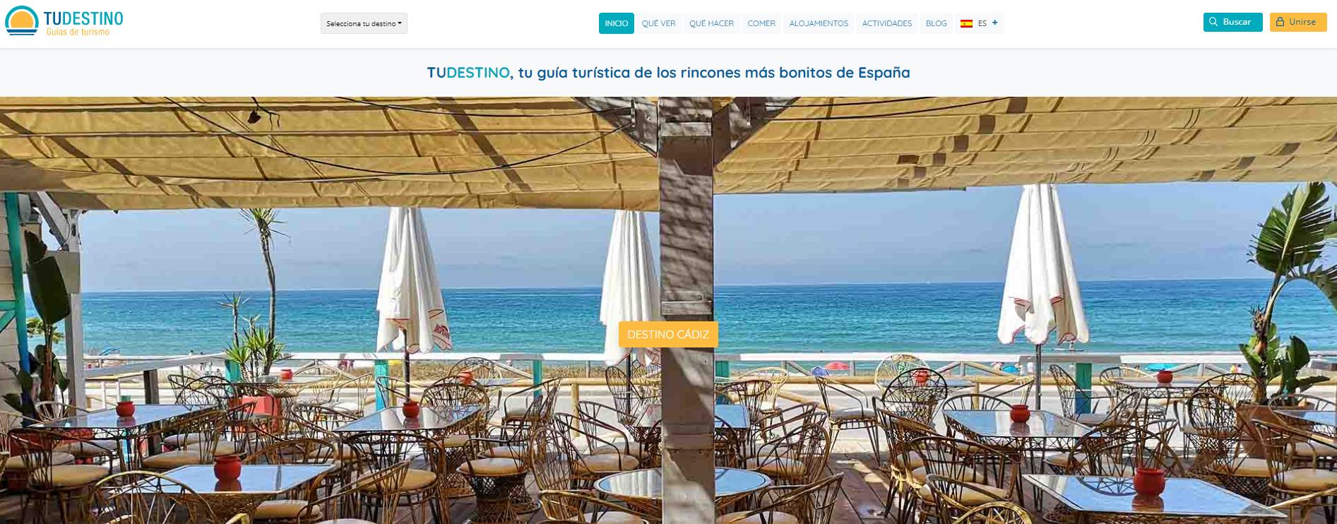 Turismo Virtual Web Tu Destino Guías de Viajes