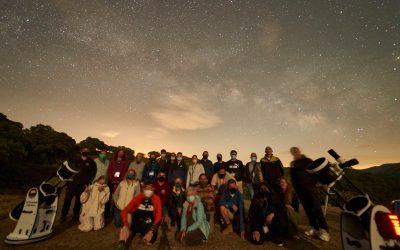 Programación de actividades para la observación y disfrute del cielo nocturno en la Sierra de Cádiz